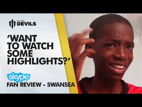 'I Have Match Highlights For Y'All' | Manchester United 1-2 Swansea City - FA Cup | SKYPE FANCAM