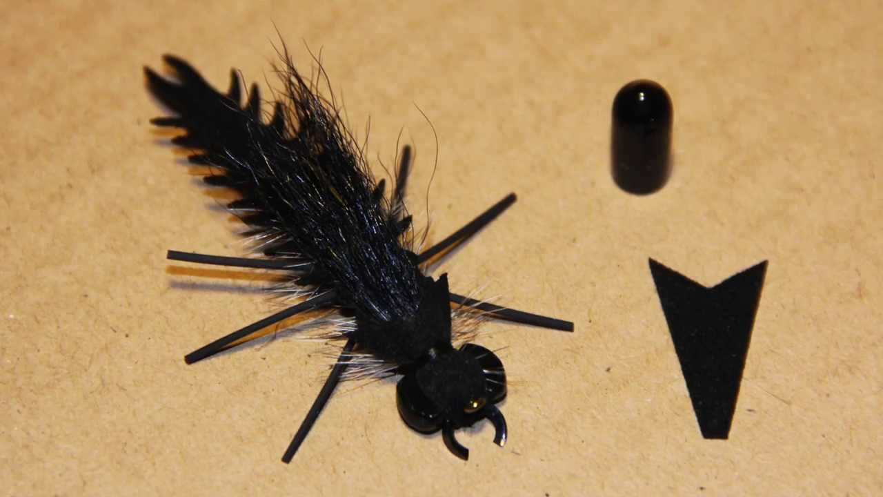Crittermite tying instructions youtube for Fly fishing flies for sale