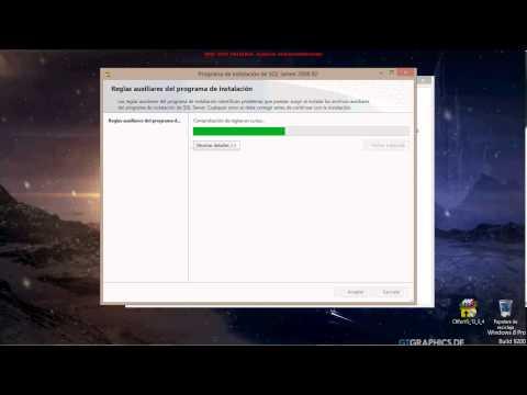 Instalar y configurar Sql Server 2008 R2 (Solución error al Instalar SQL Server)