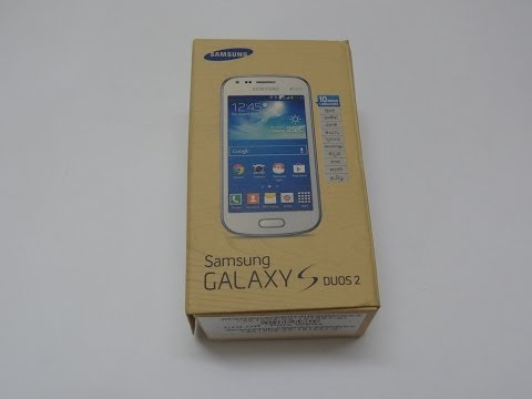 Samsung Galaxy S Duos 2 Unboxing (S7582)