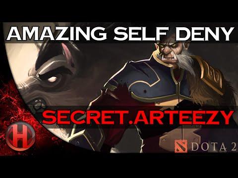 Dota 2 – Amazing Self Deny by Secret.Arteezy vs. LGD-Gaming