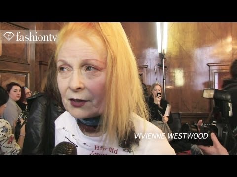 Vivienne Westwood Red Label Fall 2012 | Backstage at London Fashion Week | FashionTV