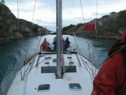 Sailing Jolly - Corfu-to-Lavrio-Oct-2010 on Beneteau Oceanis 43