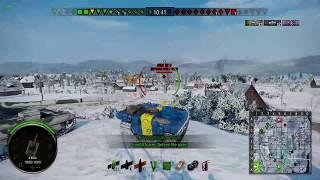 World of Tanks Xbox One - Stark Strv S1 Gameplay
