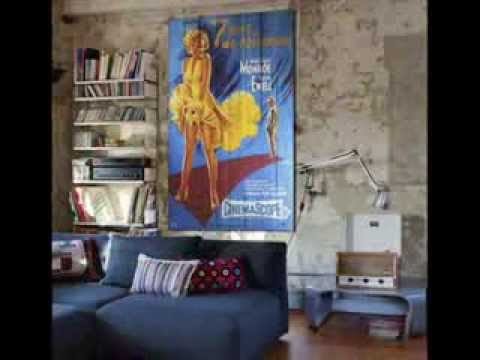 Decoracion vintage cuadros con palets youtube - Decoracion vintage de interiores ...