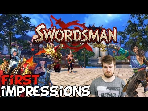 """Swordsman Online First Impressions """"Is It Worth Playing?"""""""