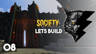 Minecraft Lets Build :: The Iron Gate! :: Society of Wolves Part 8