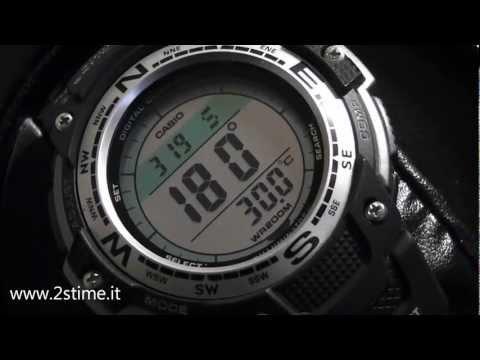 2S Time - CASIO SGW 100 1V Digital Compass Temperature Twin Sensor