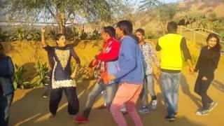 shooting masti time,dance with sapna(dancer)