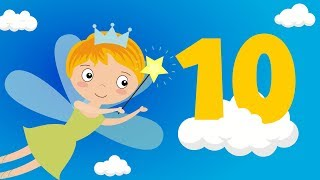 Numbers Counting to 10    Baby Toddler Songs, Nursery Rhymes