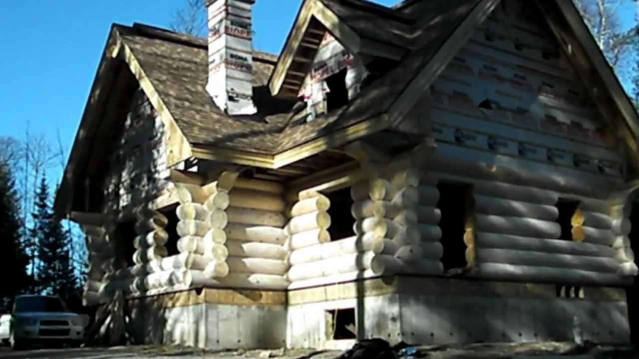 Beautiful Owner Built Log Home