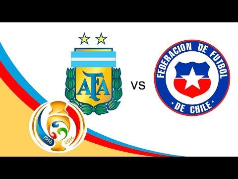 Previo Argentina vs Chile   Final - Copa America    Televisa Deportes