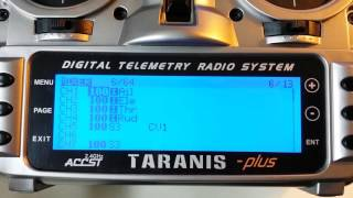 Taranis X9D 6-position switch programming