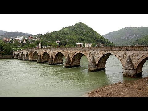 Mehmed Paša Sokolović Bridge UNESCO - Visegrad, Bosnia & Herzegovina