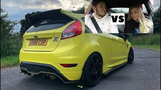 QUICKEST 0-60 FORD FIESTA ST | Battle #2