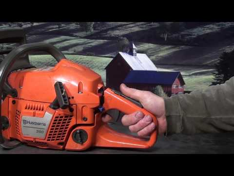 The chainsaw guy shop talk Husqvarna 350 Chainsaw 3 2
