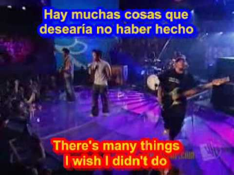 Hoobastank  - The Reason ( SUBTITULADO INGLES ESPAOL )