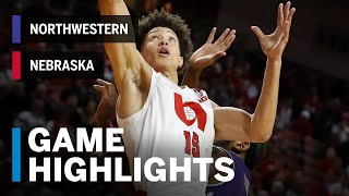 Highlights: Northwestern at Nebraska | Big Ten Basketball