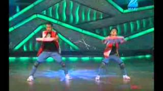 DID Little Masters 2012 -- Faisal with Dharmesh (Rocking) !.flv