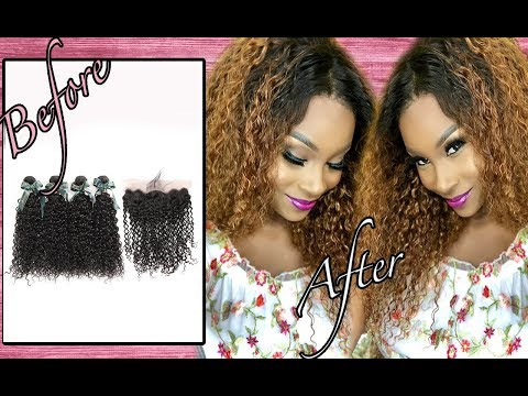 How to make curly hair pop! Ft Asteria hair Aliexpress Hair Review 2018