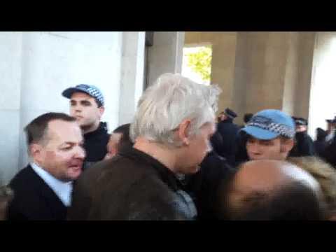 Julian Assange Occupy LSX