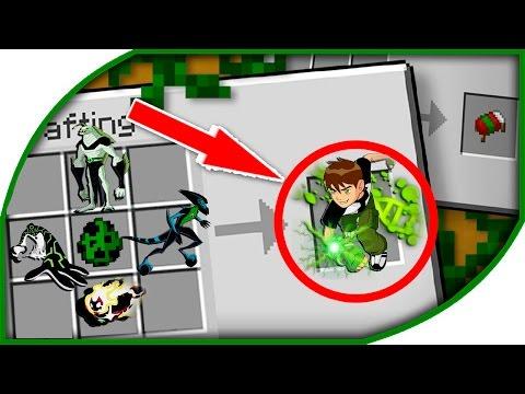 ♕ Minecraft: BEN-10 KARAKTERLERİ Yapımı!! (Modsuz 1.9)