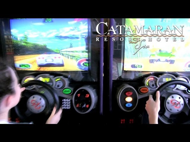 San Diego Activities - Arcade at Catamaran Resort