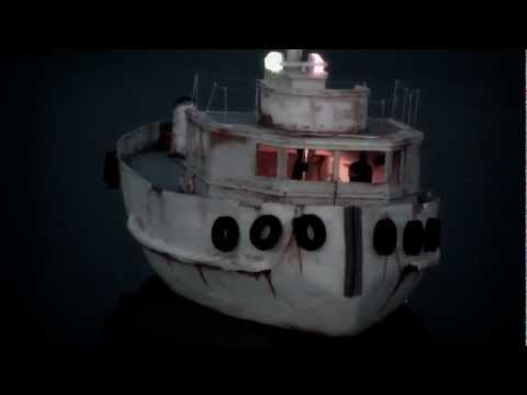 RC Tug Boat Fishing Boat home-made