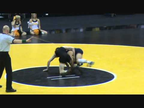 Jesse Delgado (IL) dec. Matt McDonough (IA), 11-7 at 125 lbs.