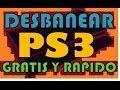 Nuevo UnBan (console id) Ps3 desbaneate rapido y gratis cada dia 2014