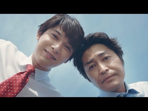 """吉沢亮があなたの肩でうたた寝。そこに安田顕が現れて!ロッテWebドラマ『ポリフェノールラブ』""""屋上篇"""""""