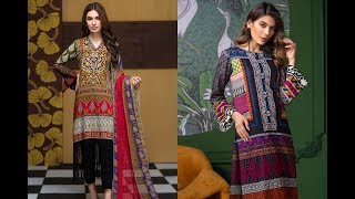 Lawn Suits Collection 2019 || Designer Lawn Suits || Life of Jobian Mom