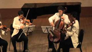 Shanghai Quartet, Ravel String Quartet in F Major, Movt. 2