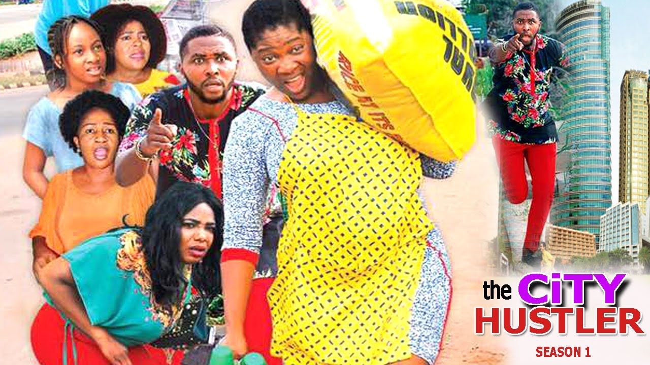 The City Hustler Nigerian Movie - Mercy Johnson movie [Season 2]