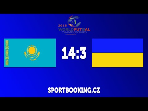 Match review UKRAINE VS KAZAKHSTAN, ROUND 5 (World Futsal Championship 2016)