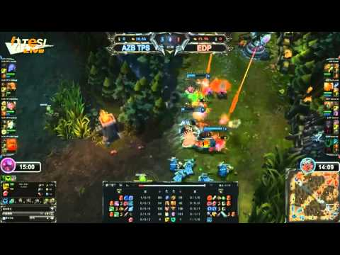 Azubu TPS vs e-Sports Dragons - TeSL 2013, week 7