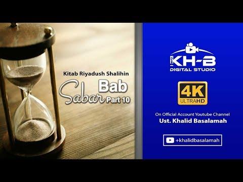 Riyadhus Shalihin - Bab Sabar Part 10