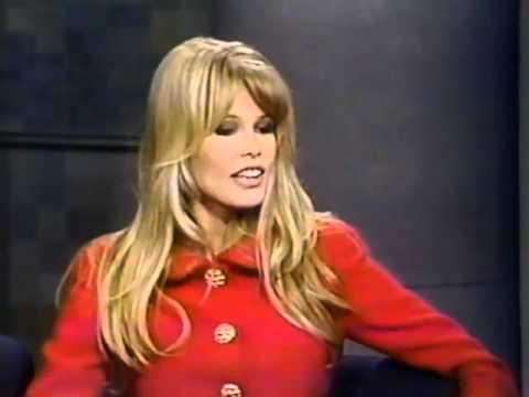 Claudia Schiffer on Late Night (1992)