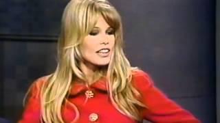 Claudia Schiffer on Late Night (1992)