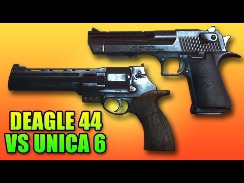 Battlefield 4 Deagle 44 Vs Unica 6 - Best Pistols? (desert Eagle Vs Metaba) video