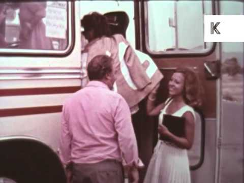 1960s Ibiza Airport, UK Tourists Arrive, Package Holiday, Archive Footage