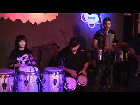 Conga Boy Shun Bitar & Richie Flores Luisito Quintero @La Fonda Boricua NYC