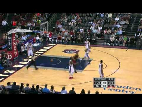 NBA Toronto Raptors vs New Jersey Nets | Wednesday, March 14, 2012 | L 84 - 98 Highlight