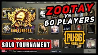 PUBGM   SOLO TOURNAMENT   ALL REAL PLAYERS