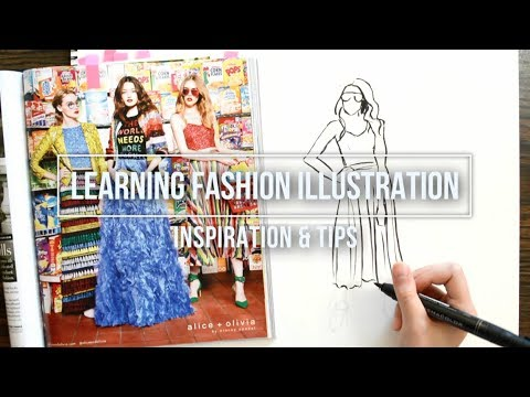 Learning Fashion Illustration