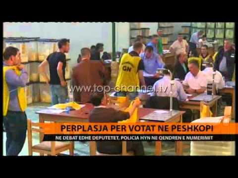 Përplasje për votat në Peshkopi - Top Channel Albania - News - Lajme