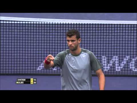 BNP Paribas Open Shot of the Day: Grigor Dimitrov