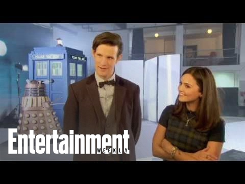 Doctor Who: Matt Smith and Jenna Louise-Coleman's love letter to fans!