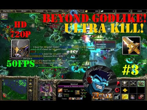 ★DoTa Morted - GamePlay | Guide★ Beyond Godlike! Ultra Kill!★ #3