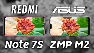 Redmi Note 7 vs Asus Zenfone Max Pro M2 Camera Test Comparison!
